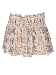 Isabel Marant Étoile - Ayowel shorts in ecru color