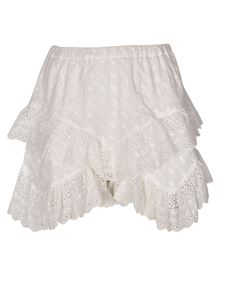 Isabel Marant Étoile - Teocadia shorts in white
