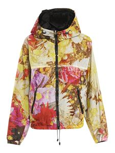 ADD - Reversible floral print jacket in yellow