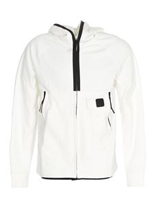 CP Company - Cotton hoodie in white