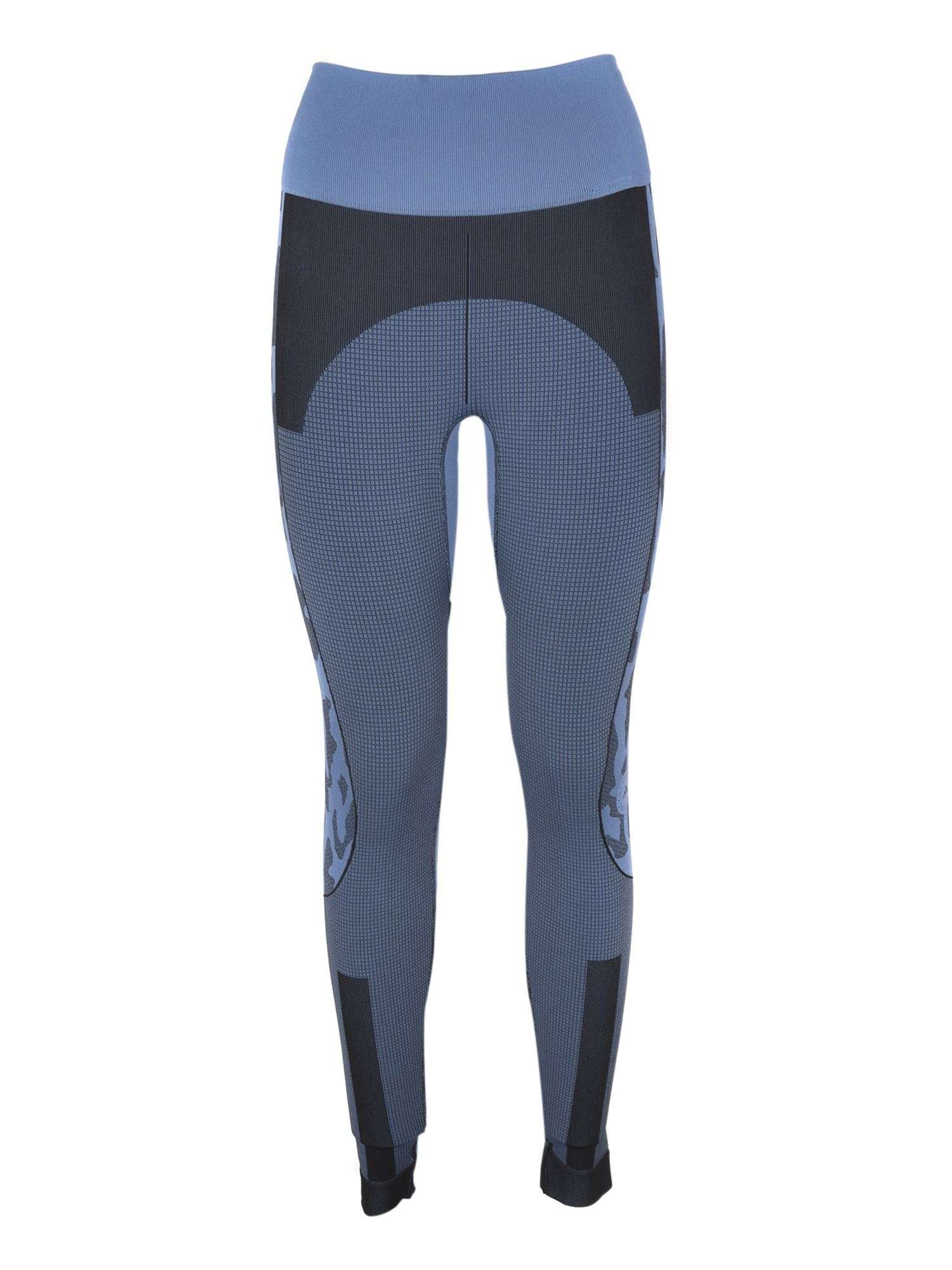 Adidas By Stella Mccartney ADIDAS BY STELLA MCCARTNEY TRUEPURPOSE LEGGINGS IN BLUE AND LIGHT BLUE