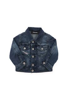 Diesel - Giubbino in denim Janob blu
