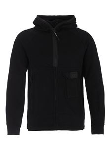 CP Company - Cotton hoodie in black