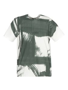 CP Company - Tracery T-shirt in green e white