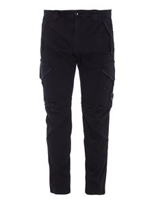 CP Company - Tech fabric cargo trousers in blue