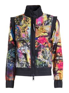 Just Cavalli - Giacca Chaotic in nylon multicolor