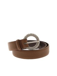 Orciani - Chain strap belt in brown