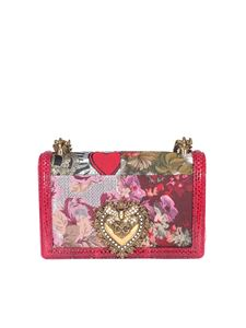 Dolce & Gabbana - Floral printed bag in red