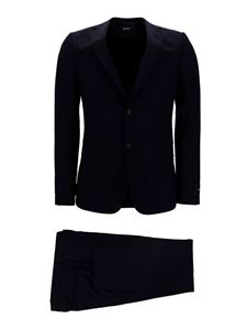 Z Zegna - Wool suit in black