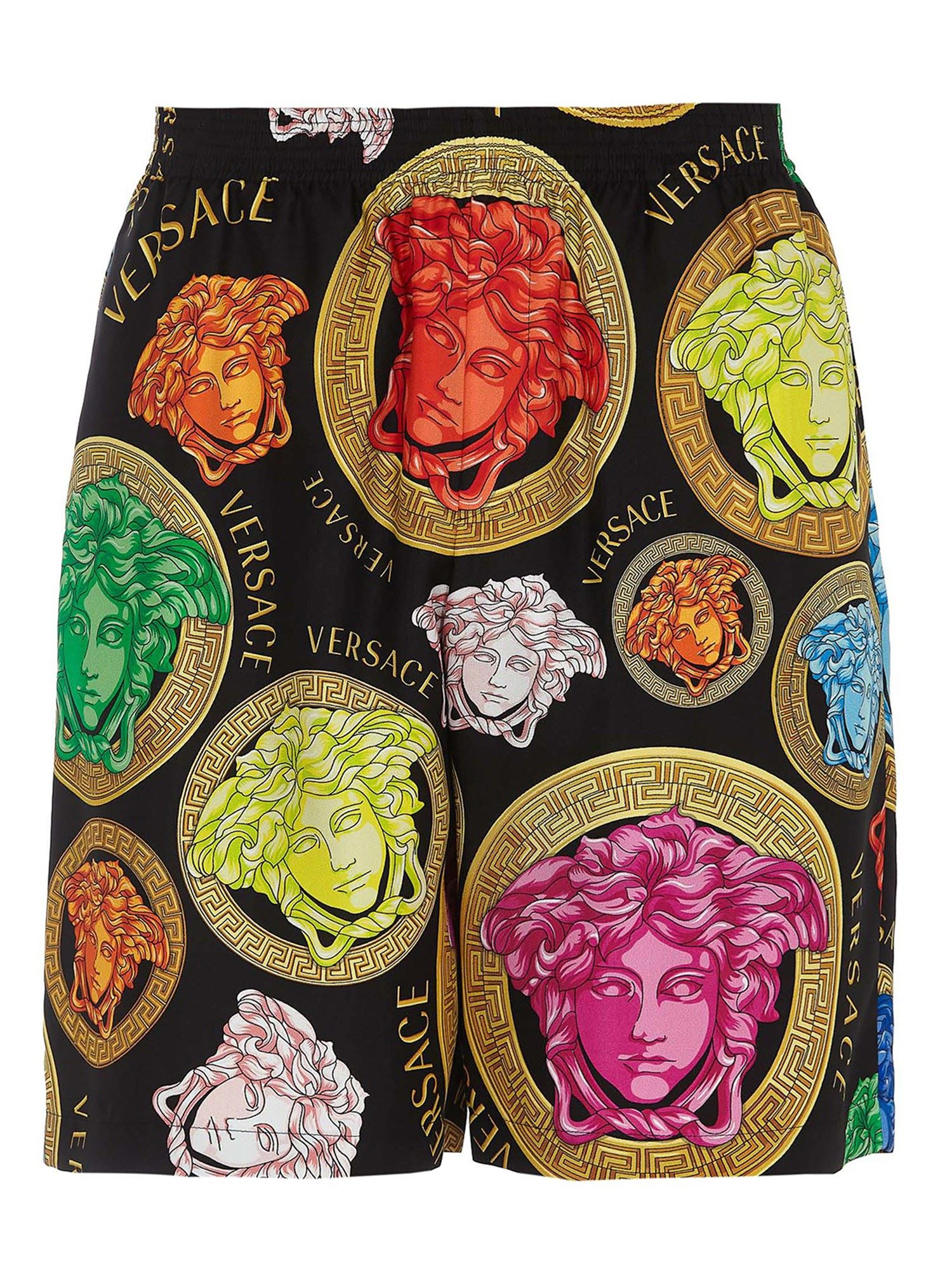 Versace MEDUSA AMPLIFIED SHORTS IN MULTICOLOR