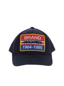 Dsquared2 - Cappello Brand Dsquared 1964-1995 blu