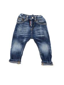 Dsquared2 - Destroyed jeans in blue
