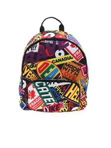 Dsquared2 - Multicolor printed backpack