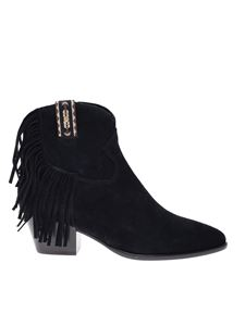 Ash - Hysteria ankle boots in black