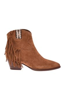 Ash - Hysteria ankle boots in brown