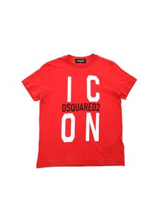 Dsquared2 - Icon crew neck T-shirt in red