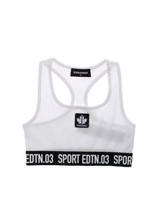 Dsquared2 - Edtn.03 Sport top in white