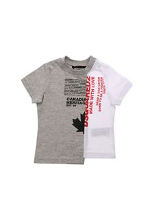Dsquared2 - Printed logo t-shirt in grey