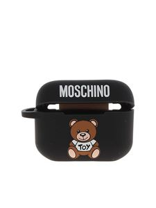 Moschino - Cover AirPods Pro Teddy Bear nera