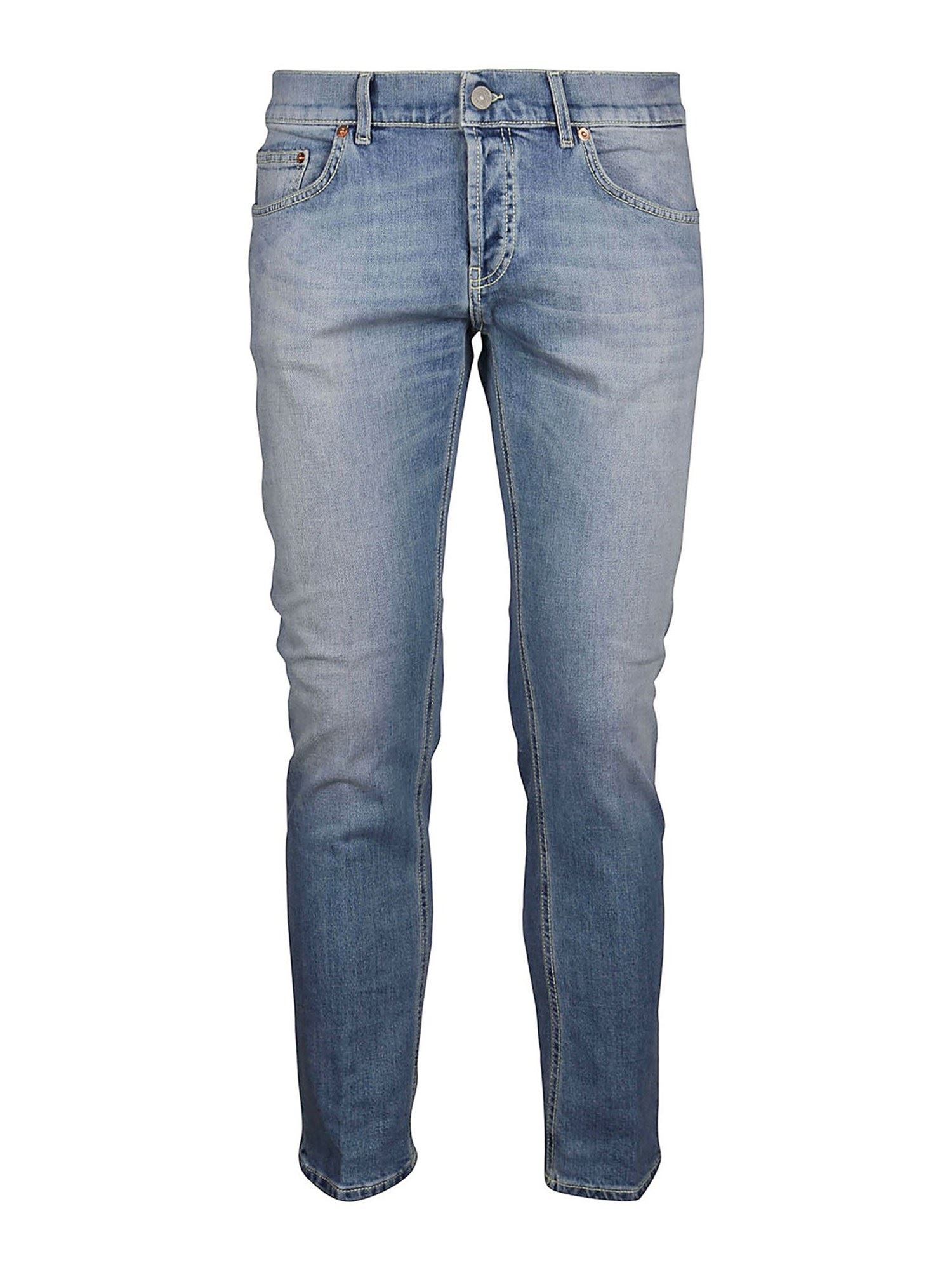 Dondup Cottons MIUS JEANS IN LIGHT BLUE