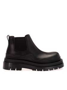 Bottega Veneta - The Tyre ankle boots in black