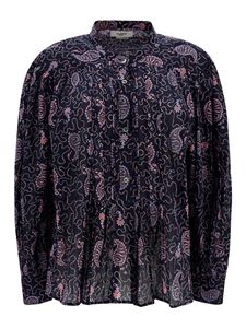 Isabel Marant Étoile - Paisley cotton shirt in Faded Night color