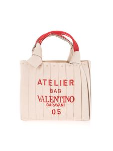 Valentino Garavani - Atelier Bag 05 Plissé Edition small shopping