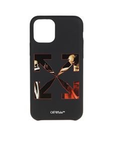 Off-White - Cover for iPhone 11 Pro in black