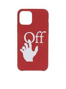 Off-White - iPhone 11 Pro cover in red