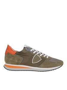 Philippe Model - Tropez X sneakers in army green