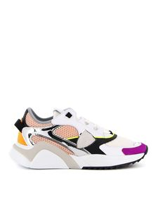 Philippe Model - Eze Low Mondial Pop sneakers in white