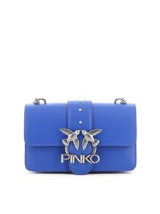 Pinko - Borsa Love Mini Icon Simply 8 Bluette