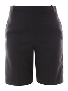 Saint Laurent - Wool Bermuda shorts in black