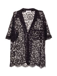 Valentino - Lace shirt in black