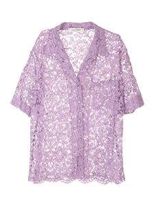 Valentino - Lace shirt in violet