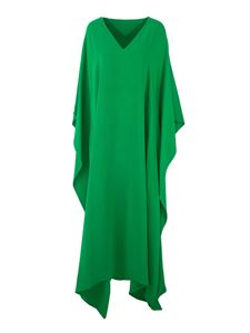 Valentino - Cady Couture evening dress in green