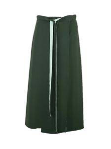 Valentino - Cady Couture skirt in green