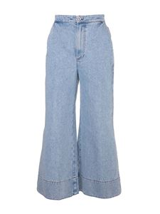 Loewe - Flared jeans in light blue