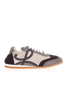 Loewe - Ballet Runner sneakers in white and gray