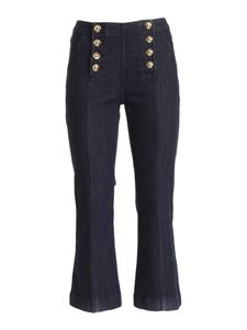 Michael Kors - Buttons jeans in blue
