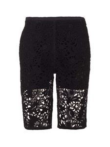 Valentino - Lace shorts in black