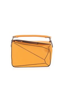 Loewe - Small Puzzle handbag in yellow