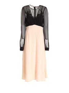 Blumarine - Micro beads dress in pink and black
