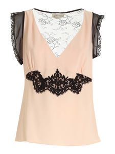 Blumarine - Lace top in pink