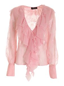 Blumarine - Lace blouse in pink