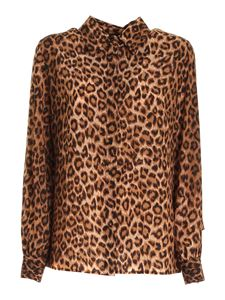 Blumarine - Animal print silk shirt