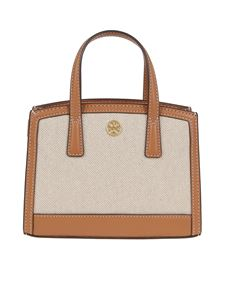 Tory Burch - Waker Micro bag in camel color