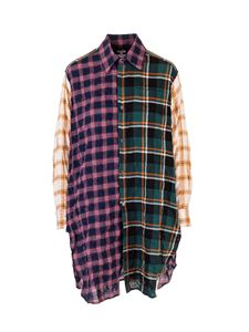 Loewe - Multicolor patchwork check shirt