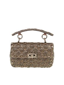 Valentino Garavani - Spike Rockstud bag in shades of gold