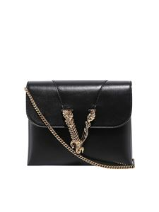Versace - Leather bag in black